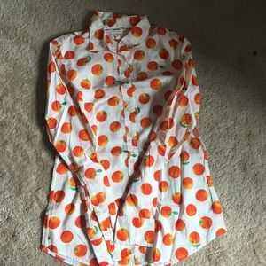 BNWT J. Crew 🍊Oranges🍊 button down shirt